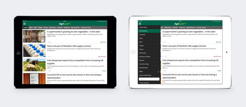 New landscape mode on the iPad allows you to read however you like