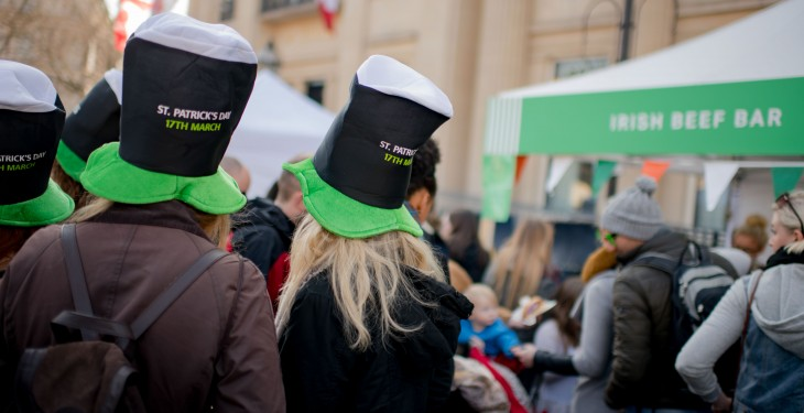 Irish food and drink takes centre stage worldwide this week for St Patrick's Day