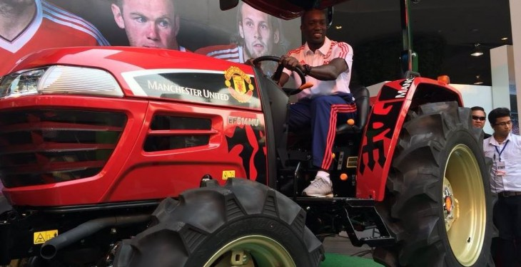 From the pitch to the field – Man Utd launches limited edition tractor