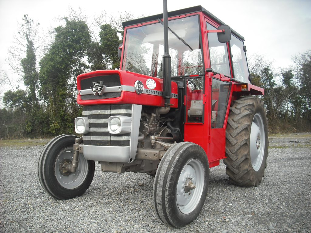 Massey Ferguson 135 Light Work : Kildare tractor cab manufacturer to double workforce