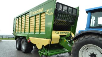 Krone ZX Wagon – possibly the most powerful wagon on the planet