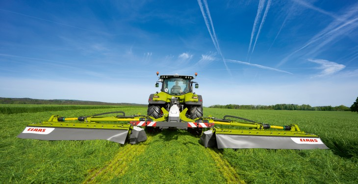 Claas unveils the 'widest disc mower combination' available on the market