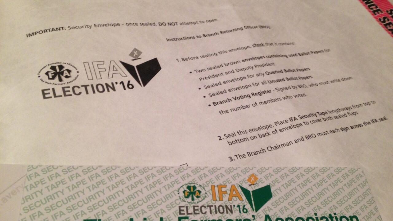 Connacht IFA to elect representative next week