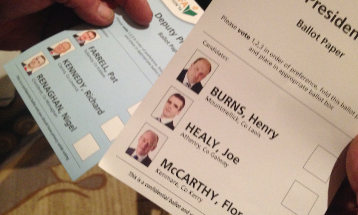 High voter numbers as IFA Election voting comes to a close