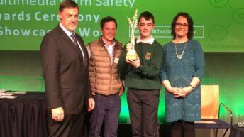Cavan student wins HSA national farm safety multimedia award
