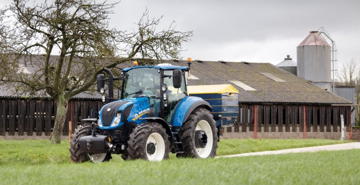Upgraded New Holland T5 and T6 tractors now available on the Irish market