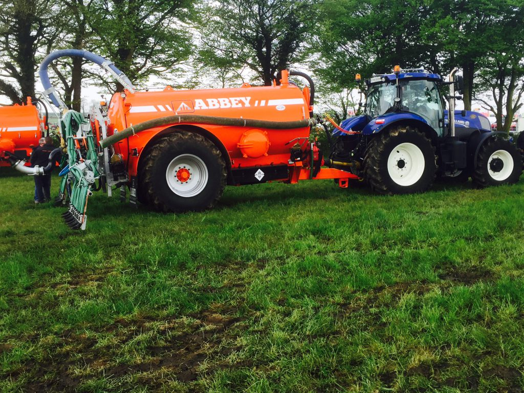 Abbey 2500R Premium plus slurry tank