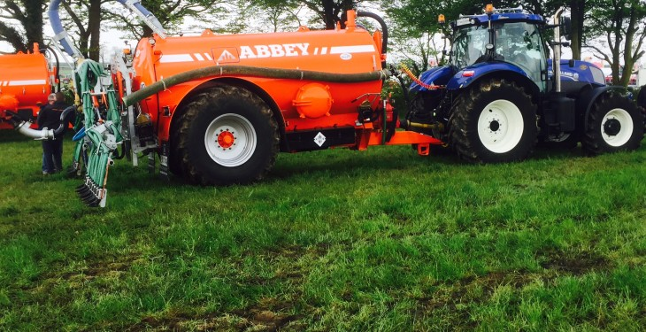 Farmers have one week to return slurry spreading forms under GLAS