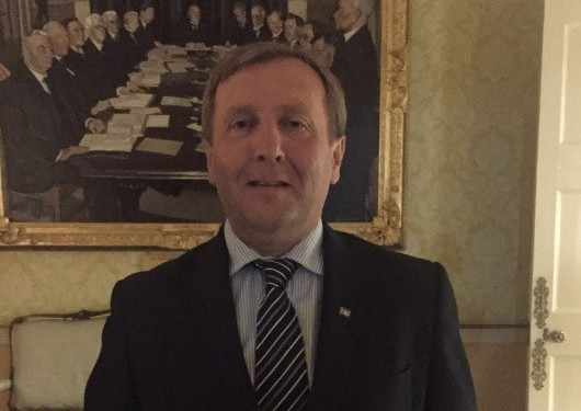 New Minister for Agriculture Michael Creed sets out his stall