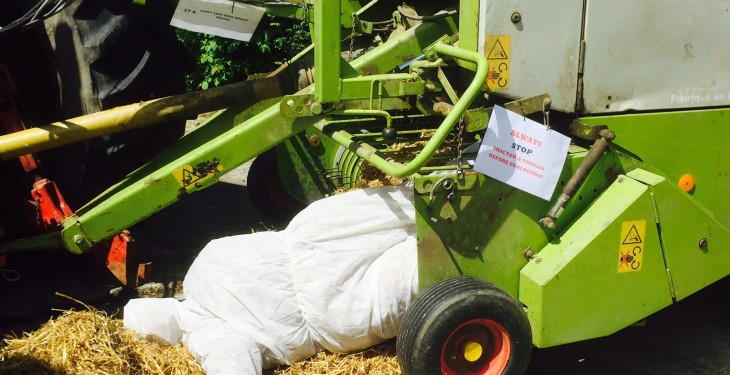 Pics and video: Farm safety event highlights the main risk areas on farms