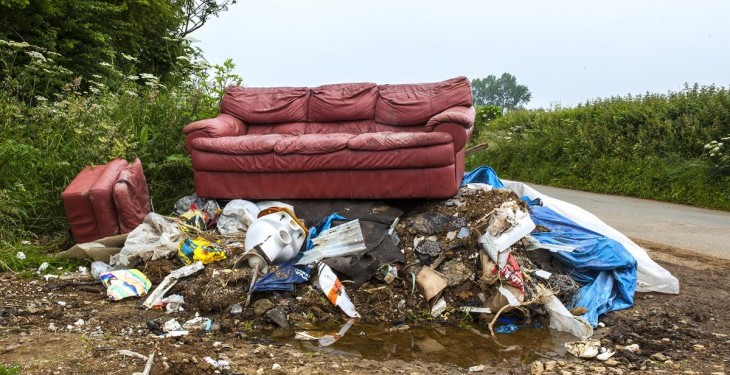 Greater fines called for to address scourge of fly-tipping