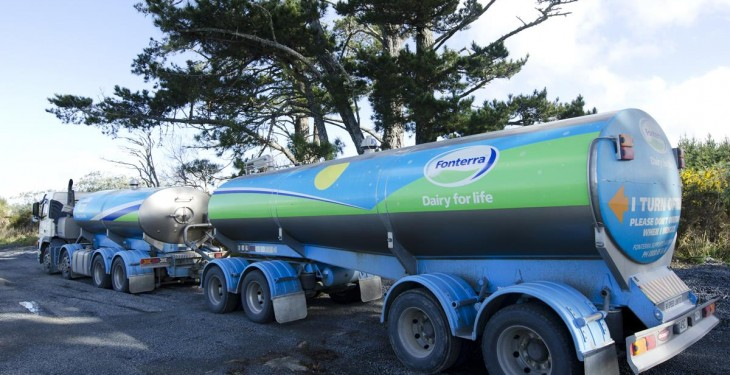 Dairy giant Fonterra records €50 million profit after tax