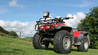 Farmers report an increase in quad thefts