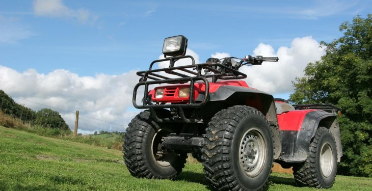 Are you breaking the law when you drive your quad on the road?