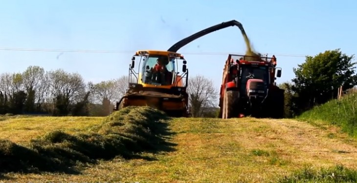 Video: Great footage of silage 2016 from mowing to packing the pit