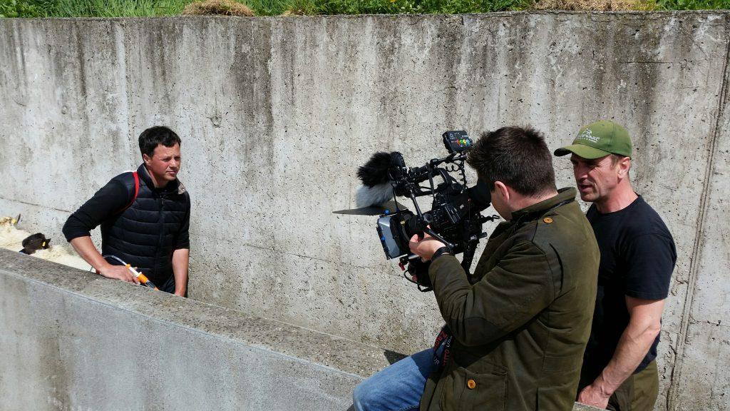 Farmer john behind the scenes for zoetis advert