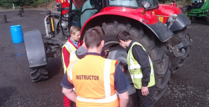 Under 16s in the North need a certificate to drive a tractor (courses now open)