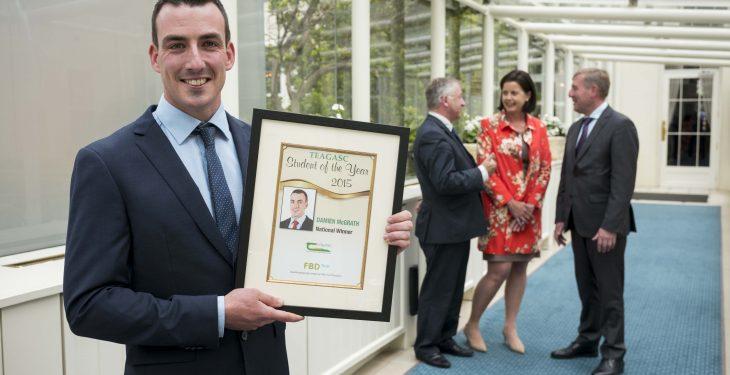 Galway farmer wins Teagasc/FBD Student of the Year award