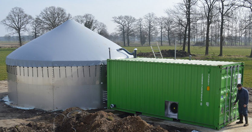 Profitable green energy from your farms manure