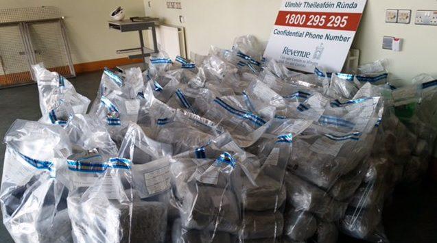 Revenue seize cannabis worth €4.3m hidden in meat in Rosslare