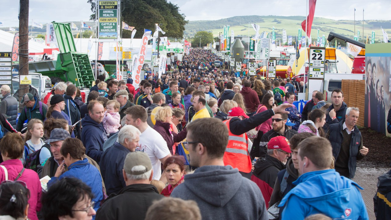 Map: Find your way around the 'Ploughing' site with ease