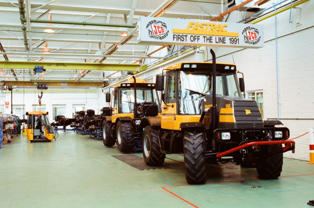 1991 - the first Fastracs come off the line