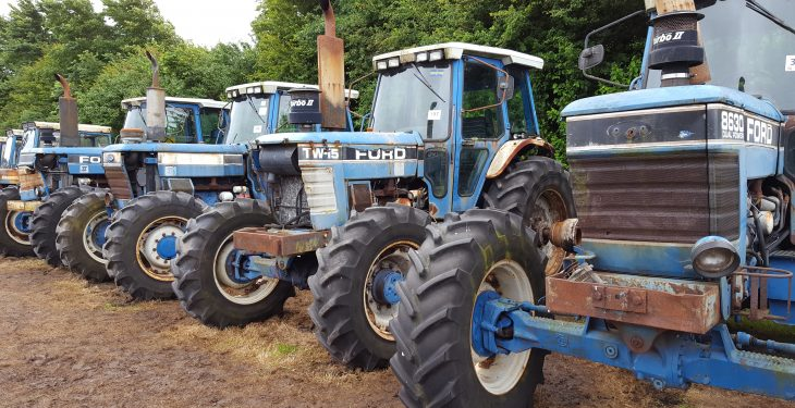 Pics and Video: Bord na Mona plant and equipment auction