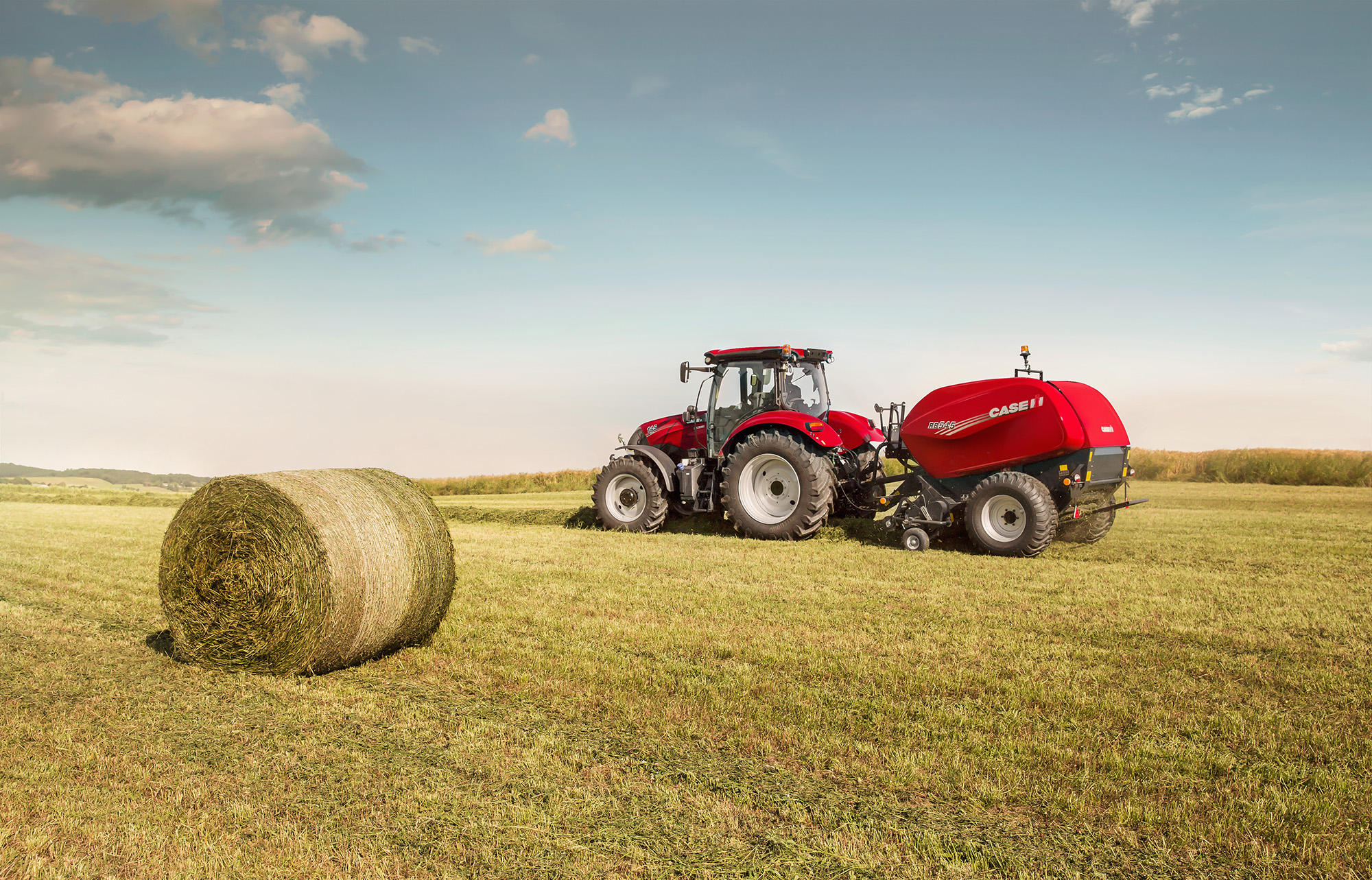 Pics: New round balers from Case IH for 2017 season