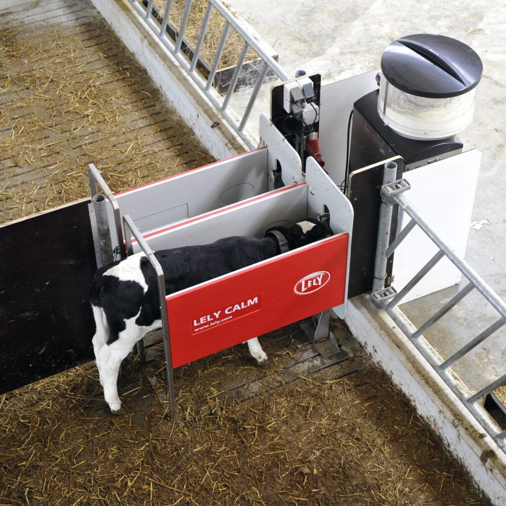 Lely calf feeder designed to help identify health