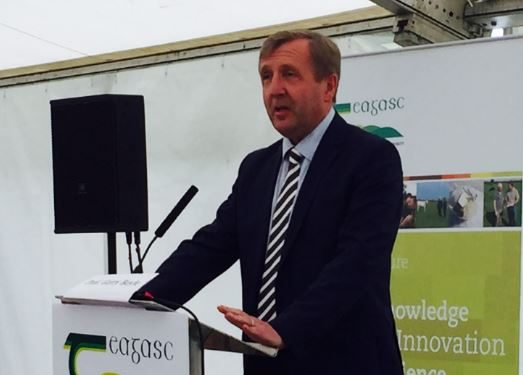 Minister Creed pledges support to beef farmers at Teagasc open day