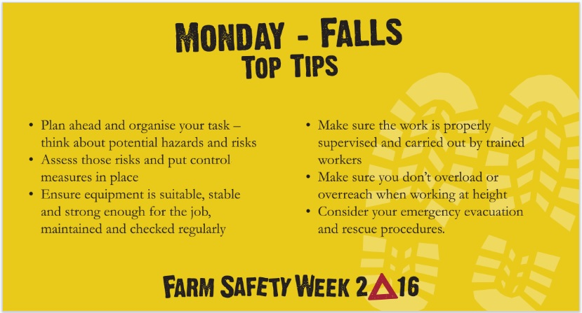 monday farm safety falls