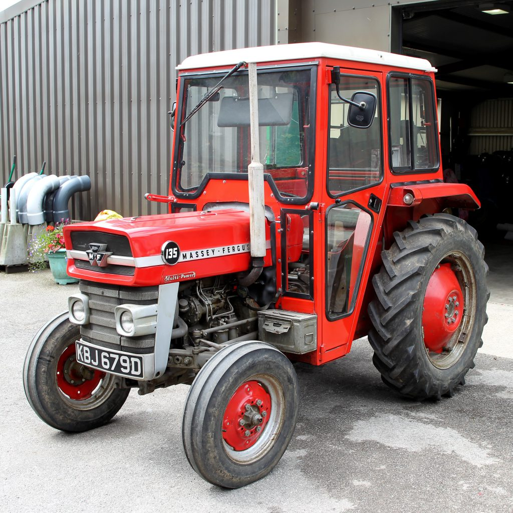A 1966 Massey Ferguson 135 with just 969 hours on the clock will be just  one of the lots to go up for sale at a vintage auction in the UK today, ...