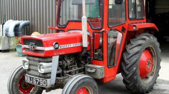 Original Massey Ferguson 135 to make big money at UK auction