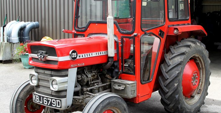 Original Massey Ferguson 135 to make big money at UK auction