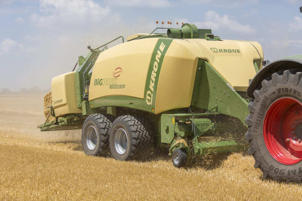 Image result for New Krone Baler