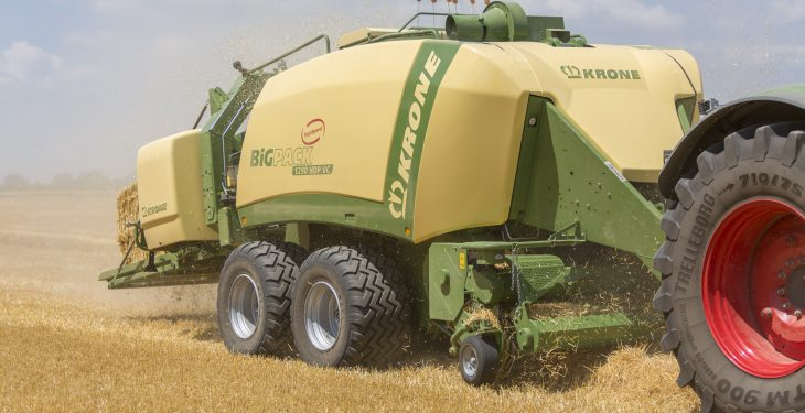 New short-straw feature added to Krone's Big Pack baler range