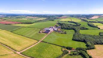 Two massive UK dairy farms covering 1,300 acres hit the market for €11.6m