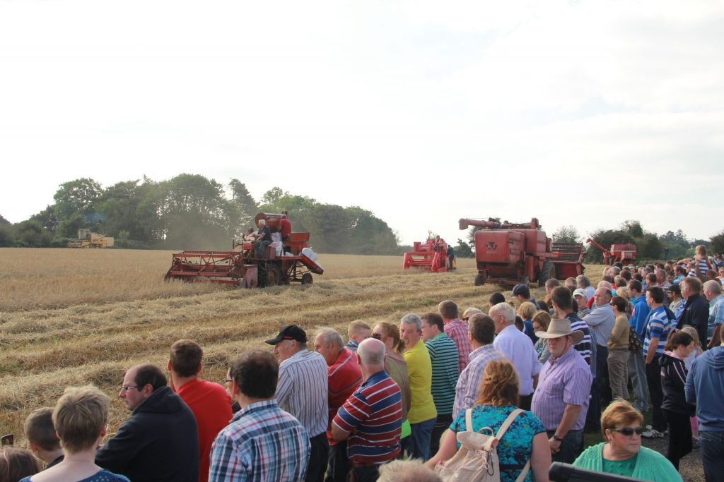 Crowds at last year's Autumn Harvest Extravaganza
