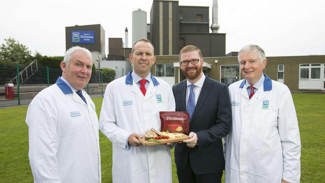 60 new jobs for Tyrone at Dale Farm's new cheese facility