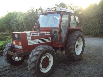 fiat, tractor
