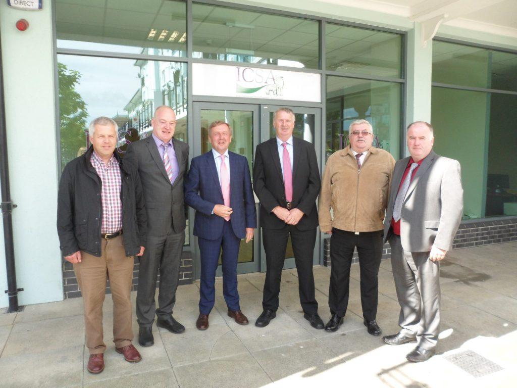 Minister Creed at ICSA HQ (Large)