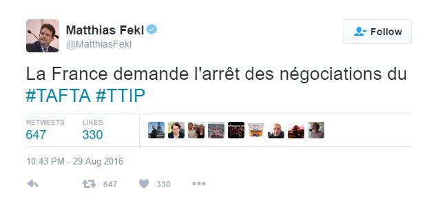 TTIp tweet