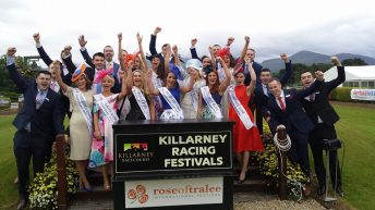 Meet three of the Rose of Tralee Escorts with road frontage