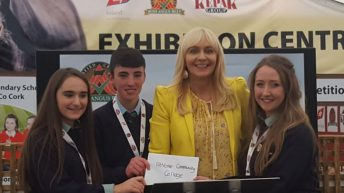 Finalists in Irish Angus Beef School Competition presented with calves