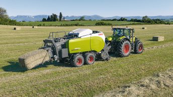 Claas to display new Quadrant baler at this year's Ploughing