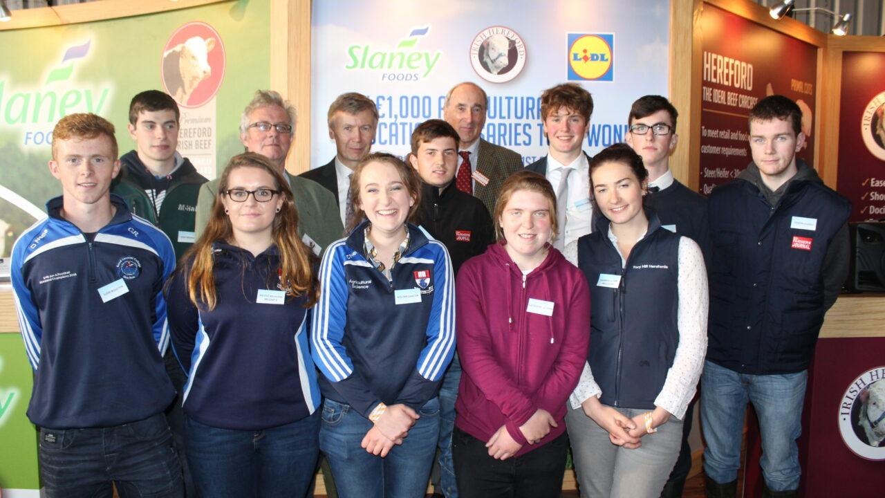 Five students awarded €1,000 agri-education bursaries