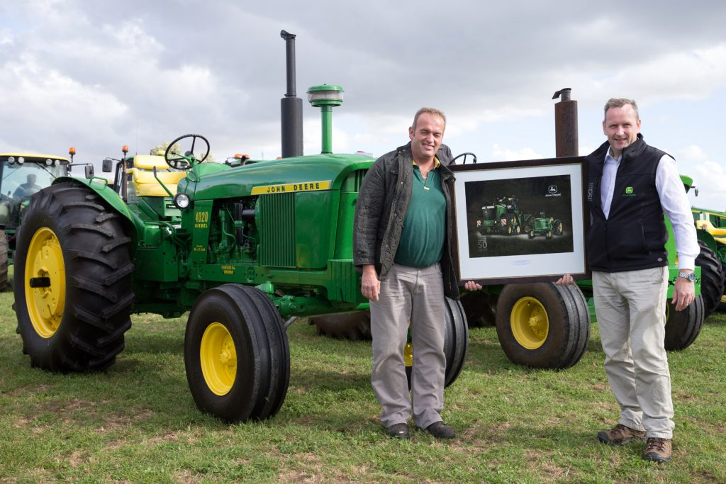 John Deere UK and Ireland's 50th celebration Picture Tim Scrivener