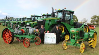 14,000 people attend John Deere's 50th anniversary event