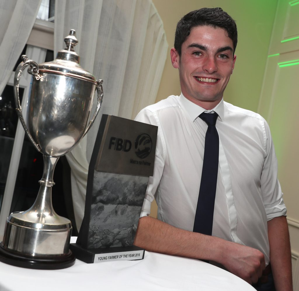 Kevin Moran - the 2016 winner of the FBD Young Farmer of the Year Competition