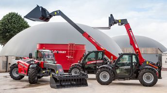 Massey Ferguson launches new range of telehandlers to meet agricultural demands